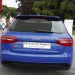 Audi RS4 Avant Nagaro rear at the 2014 Goodwood Festival of Speed