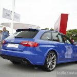 Audi RS4 Avant Nagaro rear three quarters at the 2014 Goodwood Festival of Speed