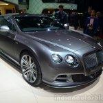 Bentley Continental GT Speed front three quarter - Geneva Live