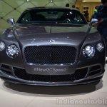 Bentley Continental GT Speed nose - Geneva Live