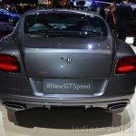 Bentley Continental GT Speed rear - Geneva Live