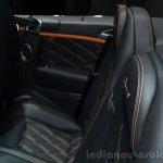 Bentley Continental GT Speed rear seats - Geneva Live