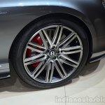 Bentley Continental GT Speed wheel detail - Geneva Live