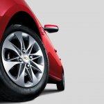 Chevrolet Optra Egypt wheel detail press shot