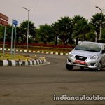 Datsun Go review image in motion