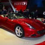 Ferrari California T front three quarters at Geneva Motor Show