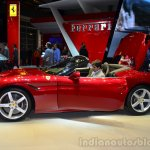 Ferrari California T side boot open at Geneva Motor Show