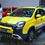 Fiat Panda Cross front three quarter - Geneva Live