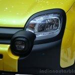 Fiat Panda Cross headlamp detail - Geneva Live