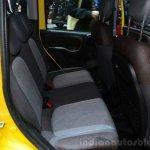 Fiat Panda Cross rear seats - Geneva Live