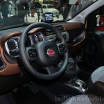 Fiat Panda Cross steering - Geneva Live