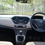 Hyundai Xcent Review cabin