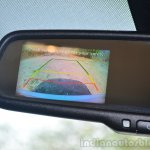 Hyundai Xcent Review rear view camera