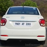Hyundai Xcent Review rear