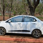 Hyundai Xcent Review side shot