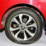Hyundai Xcent diamond cut alloy wheel image