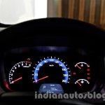 Hyundai Xcent instrument binnacle lit image