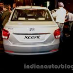 Hyundai Xcent rear image