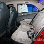 Hyundai Xcent rear seat image