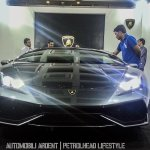 India preview Lamborghini Huracan front