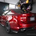 Infiniti Q50 Eau Rouge rear three quarters at the 2014 Goodwood Festival of Speed