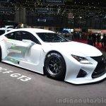 Lexus RC F GT3 concept front three quarters