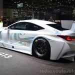 Lexus RC F GT3 concept rear three quarters view