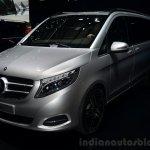 Mercedes-Benz V-Class front three quarter - Geneva Live