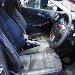 Mercedes GLA front seats at 2014 Bangkok Motor Show.JPG