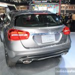 Mercedes GLA rear three quarters left at 2014 Bangkok Motor Show.JPG