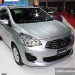 Mitsubishi Attrage 2014 Bangkok Motor Show front quarter