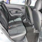 Mitsubishi Attrage 2014 Bangkok Motor Show rear legroom