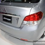 Mitsubishi Attrage 2014 Bangkok Motor Show taillight