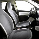 New Renault Twingo front seats official image