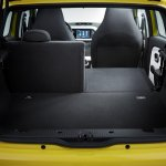New Renault Twingo rear seat folded official image