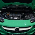 Opel Adam 1.0-liter ECOTEC engine compartment - Geneva Live