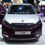 Peugeot 108 front at Geneva Motor Show