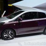 Peugeot 108 side at Geneva Motor Show