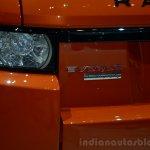Range Rover Evoque Autobiography Dynamic rear badge - Geneva Live