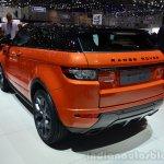 Range Rover Evoque Autobiography Dynamic rear three quarter - Geneva Live