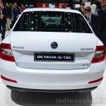 Skoda Octavia G-TEC rear - Geneva Live