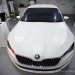 Skoda VisionC front at 2014 Goodwood Festival of Speed