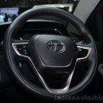 Tata Bolt steering - Geneva Live