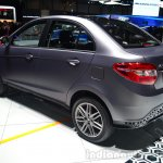 Tata Zest rear three quarter - Geneva Live