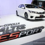 Toyota Corolla Altis ESport at 2014 Bangkok Motor Show