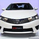 Toyota Corolla Altis ESport front at 2014 Bangkok Motor Show