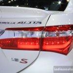 Toyota Corolla Altis ESport taillamp at 2014 Bangkok Motor Show