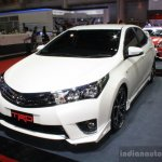 Toyota Corolla Altis TRD Sportivo front three quarters at Bangkok Motor Show 2014