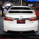 Toyota Corolla Altis TRD Sportivo rear at Bangkok Motor Show 2014