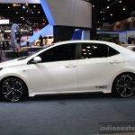 Toyota Corolla Altis TRD Sportivo side at Bangkok Motor Show 2014